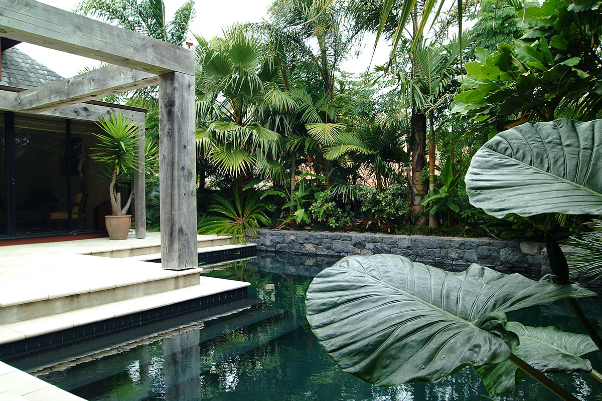Natural Habitats Outdoor Landscaping By Pool